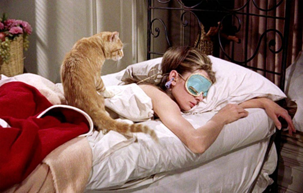 Holly Golightly sleeping mask \u2022 IVORY and OLIVE