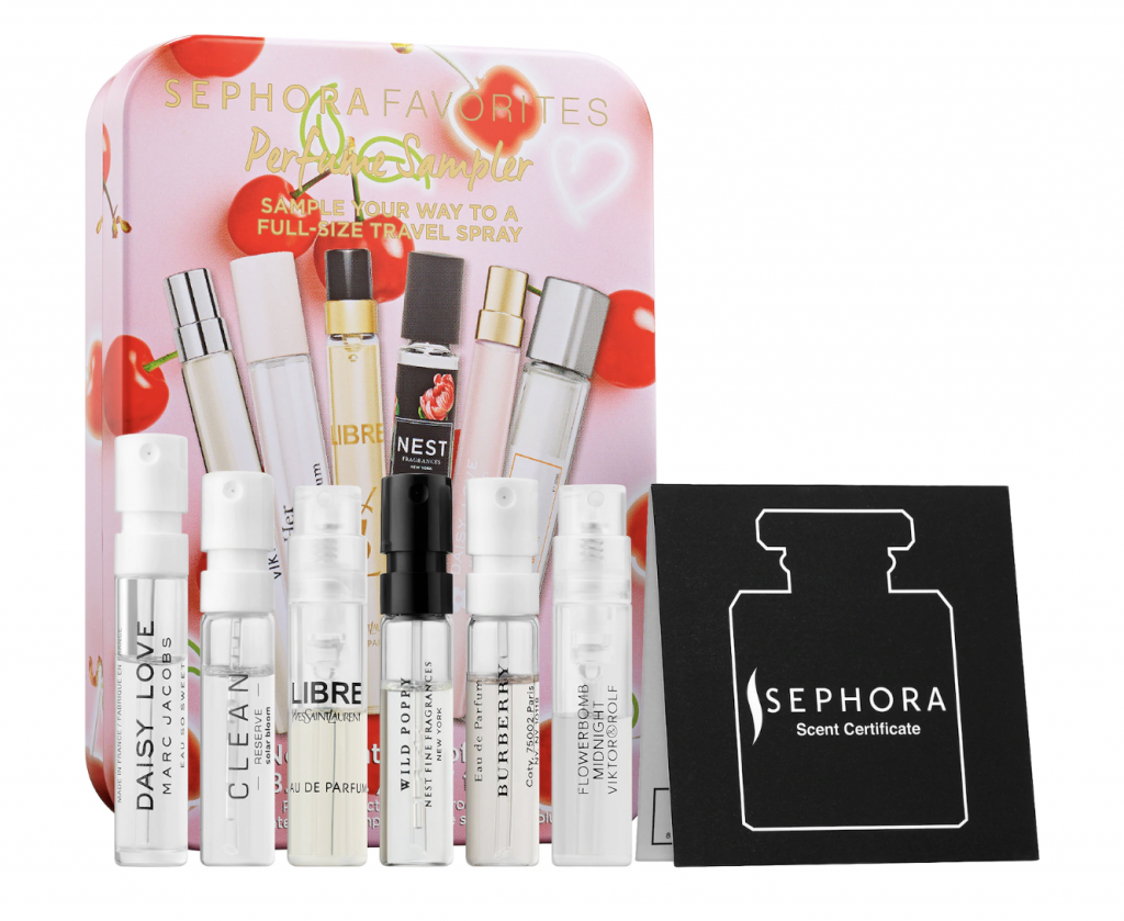 Sephora Favorites Valentine's Day Perfume Sampler Set