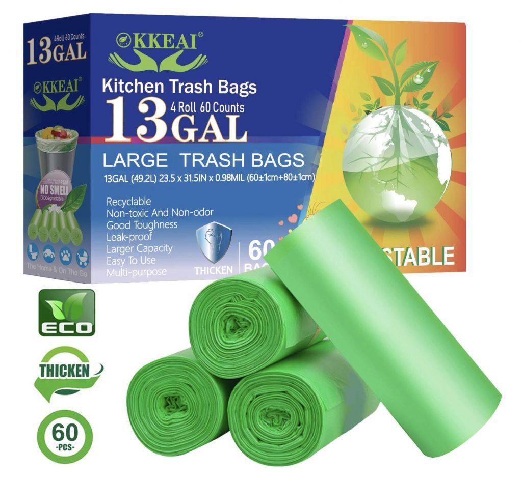 Biodegradable Trash Bags (13 Gallon)