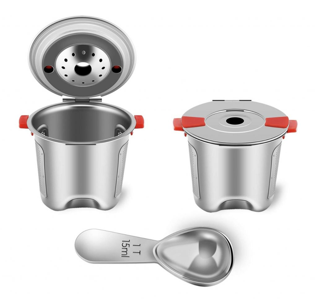 Stainless Steel Reusable K Cups for Keurig 2.0 & 1.0 Coffee Maker