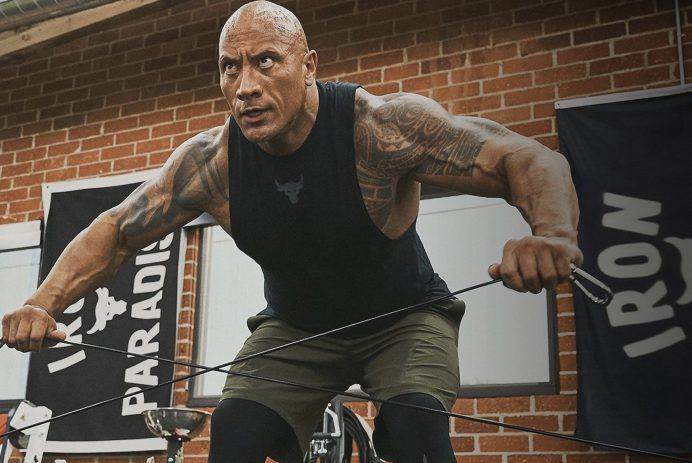 The Rock x Under Armour