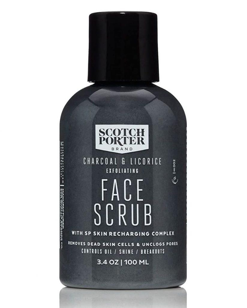 Scotch Porter Charcoal & Licorice Exfoliating Face Scrub