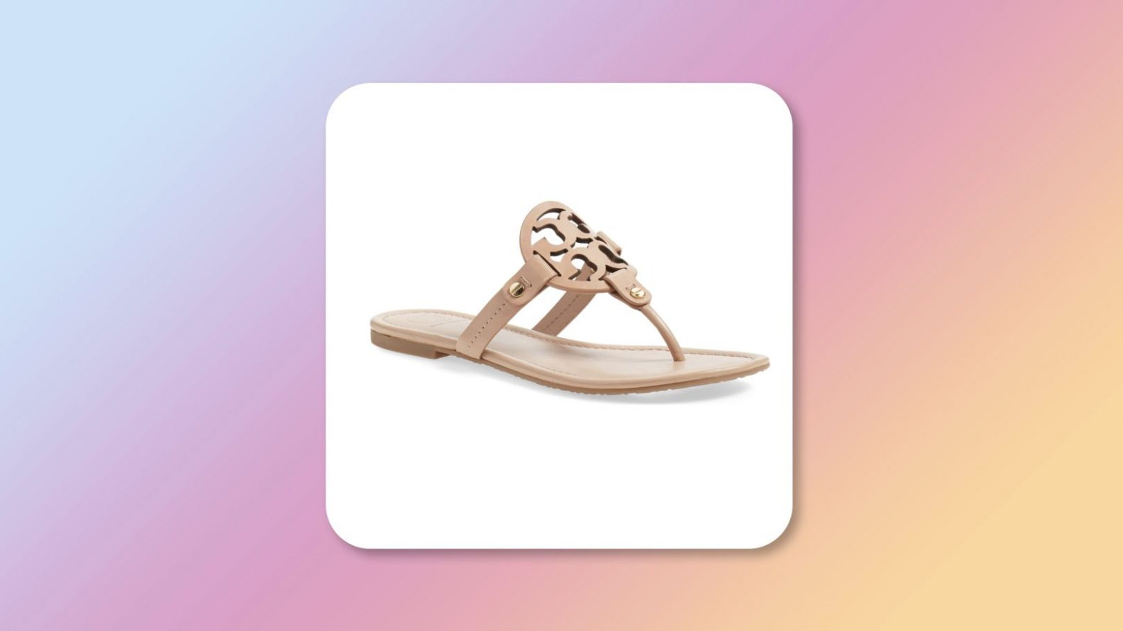 Nordstrom Tory Burch Miller sandals