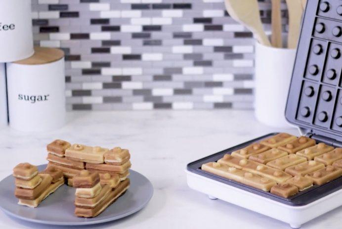 Building Brick Breakfast Waffle Maker
