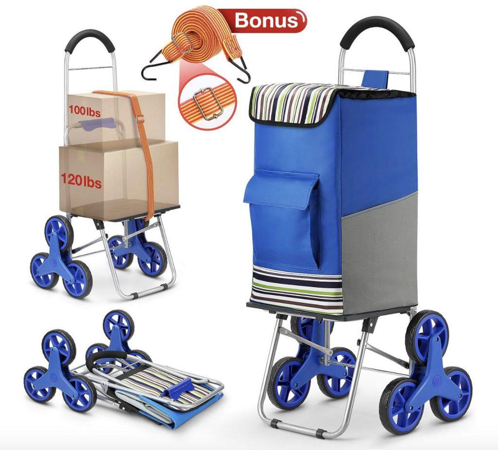 Winkeep Foldable Stair Climber Cart