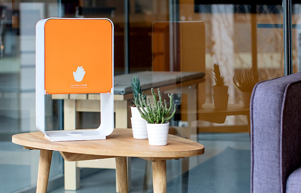 Touchland's At-Home Hand Sanitizer Station Holds 2,000 Uses
