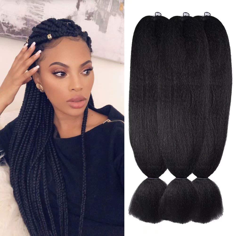 3-bundles of Kanekalon hair