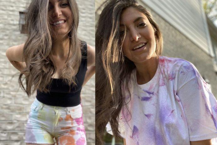 DIY pastel tie-dye (Jennifer Kline)