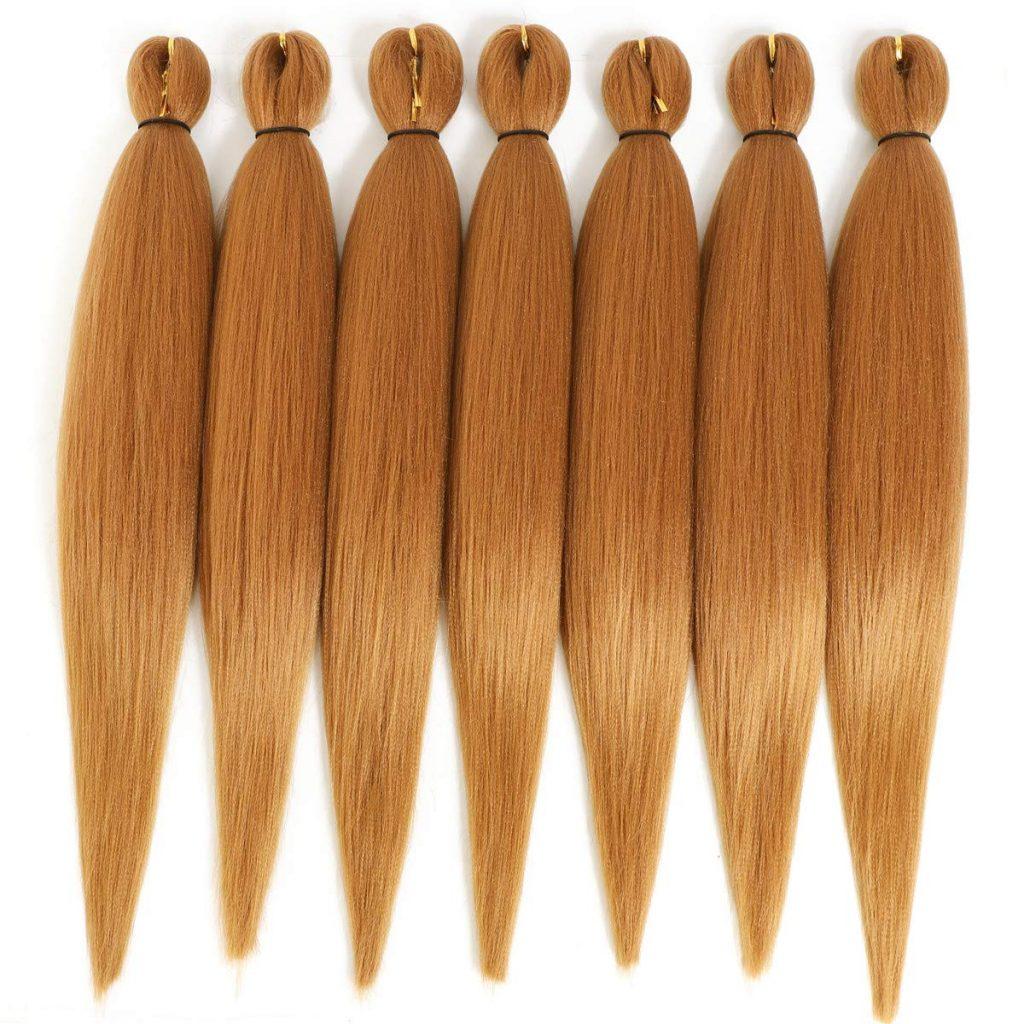 7 bundles of Kanekalon hair