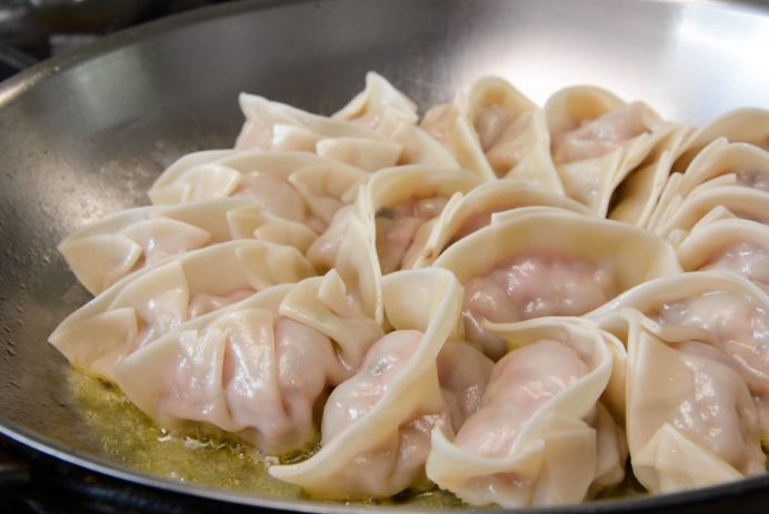 Pan-fried dumplings