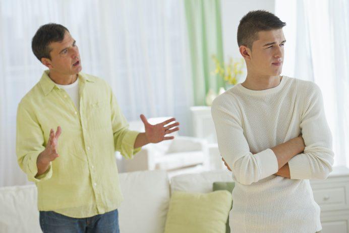 father son argument