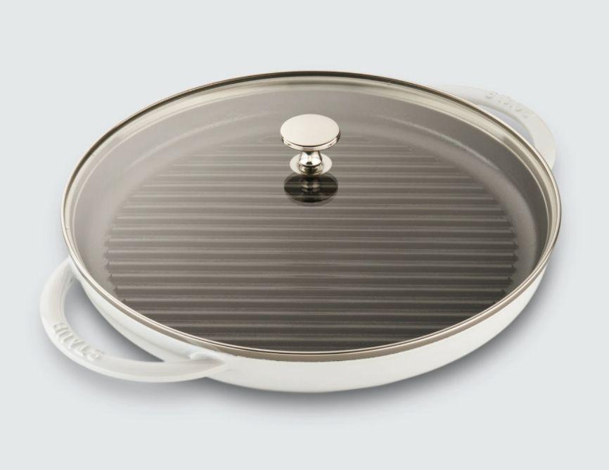 Staub grill pan, 12-inch